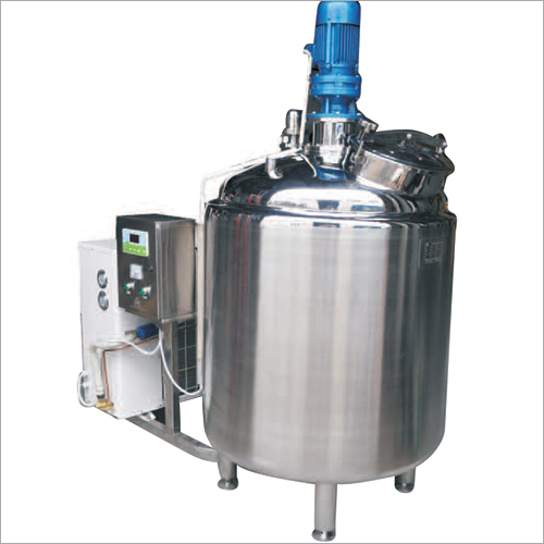 Aging Milk Cooler Tank