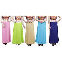 Multi Color Cotton Petticoat