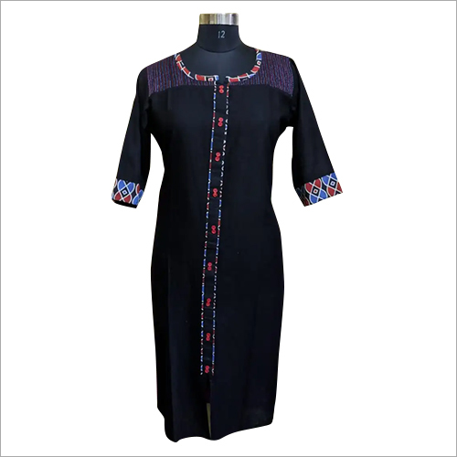 Ladies Designer Kantha Stitch Kurti