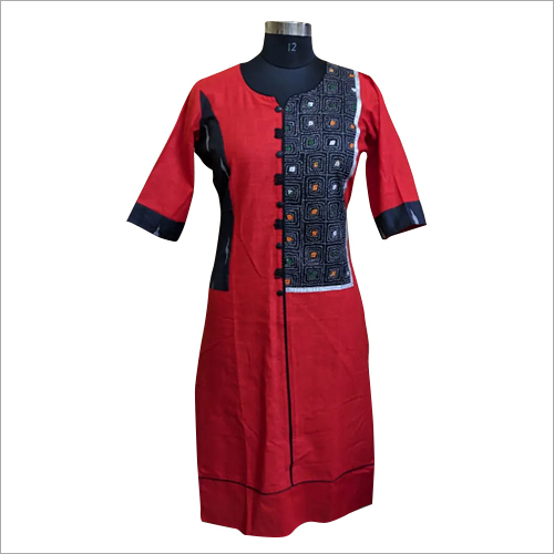 Ladies Cotton Jaipuri Kurti