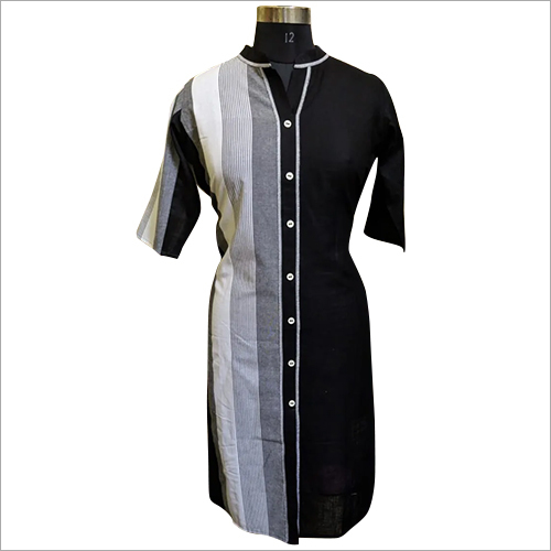 Ladies Half Sleeve Cotton Kurti