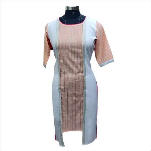 Ladies Kantha Stitch Kurti