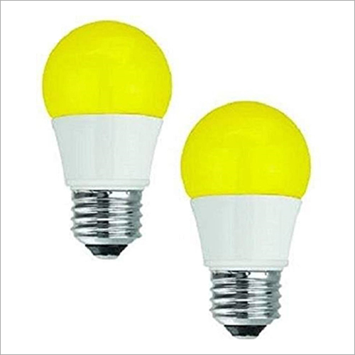 Yellow Color LED Bulb