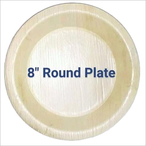 8 Inch Areca Leaf Plate