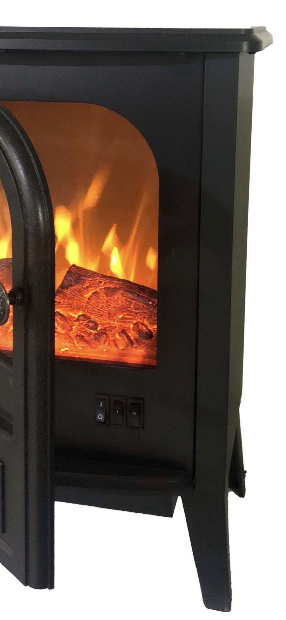 Electric Fireplace Heater ( Free Standing) 21x16x11inches