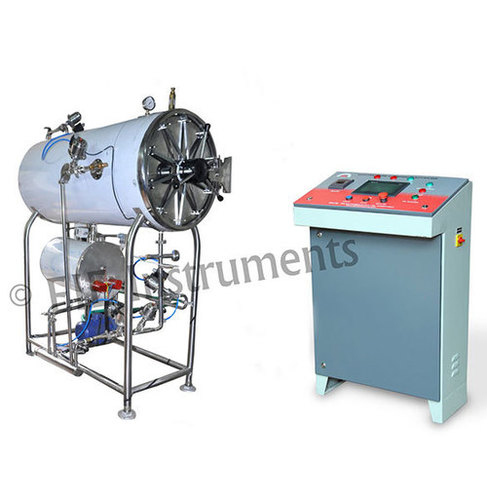 Cylindrical Horizontal Steam Sterilizer