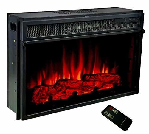 Electric Fireplace Heater with Remote , 28 x16 x 7 inches