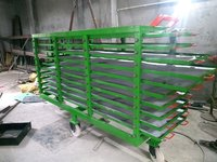 Slide bearing leaf truck