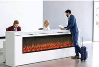 72 INCHES Electric Fireplace Heater with Remote ( 72 x16 x 7 inches )
