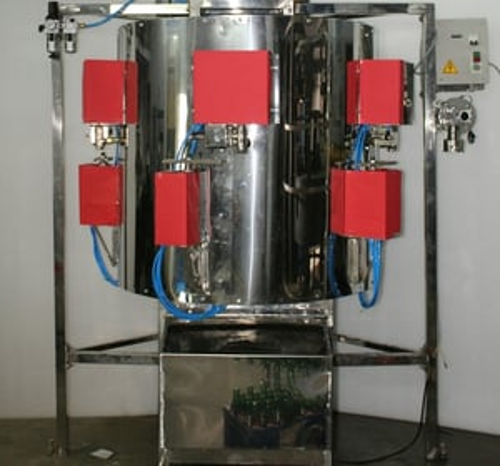 Five Head Rotary Pet Bottle Soda Filling Machine