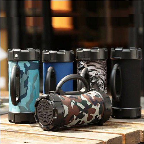 Portable Barrel Speaker