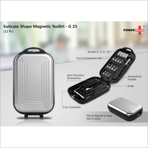 Suitcase Shape Magnetic Tool Kit