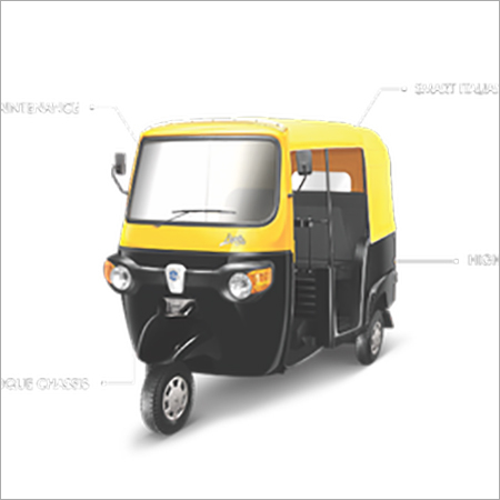 Piaggio CNG Passenger Auto Rickshaw