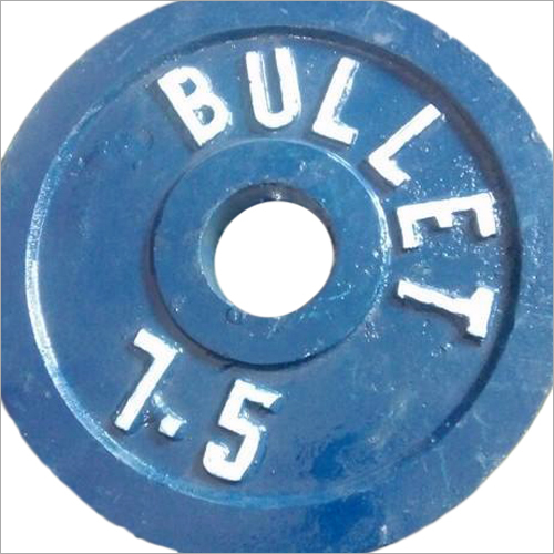 7.5kg Cast Iron Gym Plate