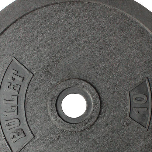 10 kg Rubber Coated Weight Plate
