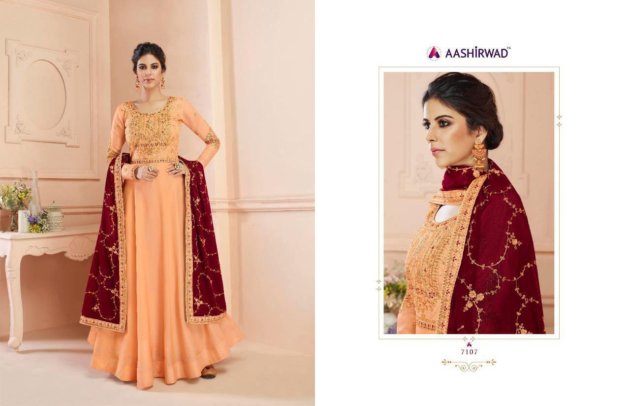 Tussar Silk Designer Long Gown