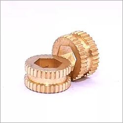 Brass Knurling Punch Insert