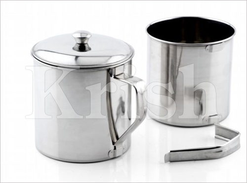 Mug with Detachable Handle With & Without Cover