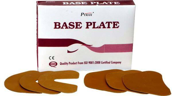 Dental Base Plate - 12 nos. (9U/3L)