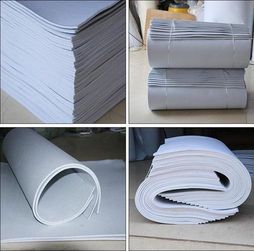 China Qingdao jieruixin Paper making press felt roller press machine felt blanket