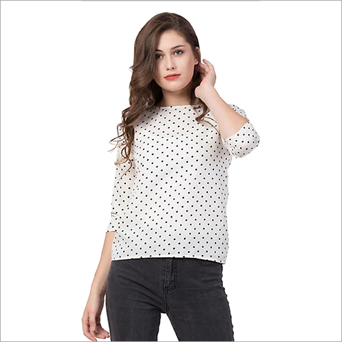 Ladies Dotted Top