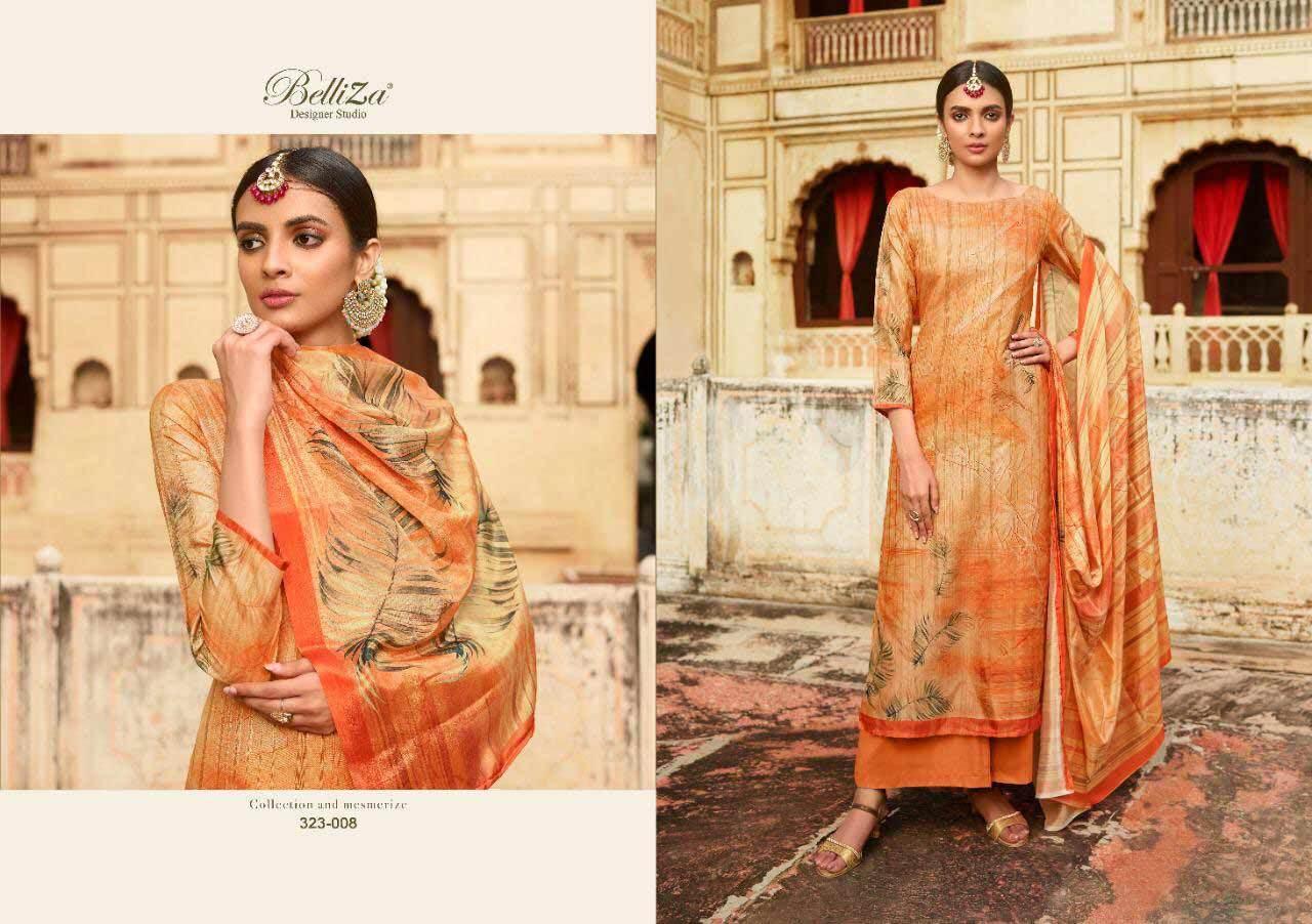 Tussur Kotha Handloom Digital Print