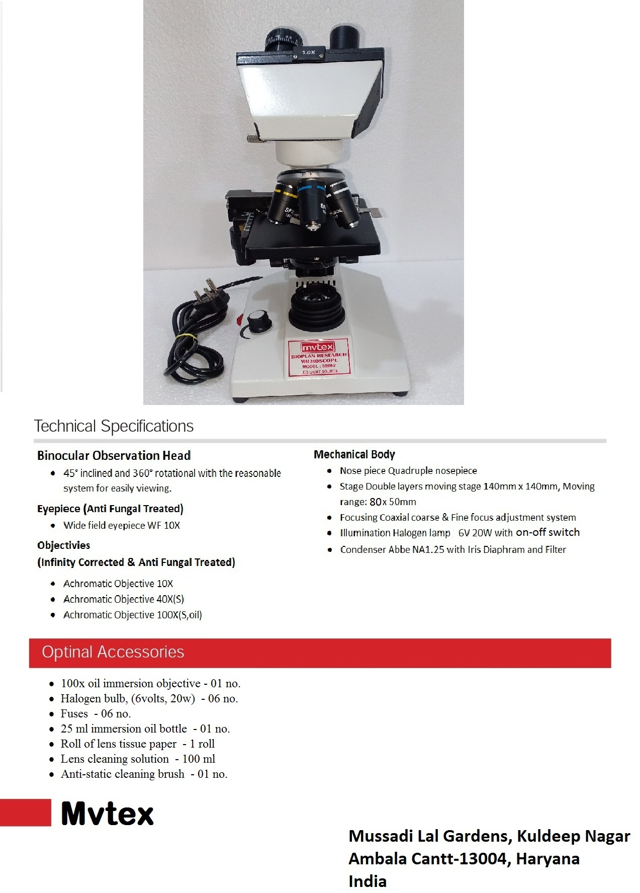Binocular Pathology Microscope