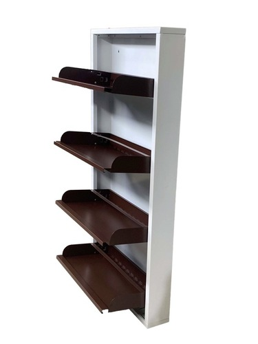 Wall Mounted shoe Rack ( 4 SHELVES )