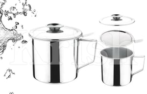 Oil Pot with Filtering Strainer
