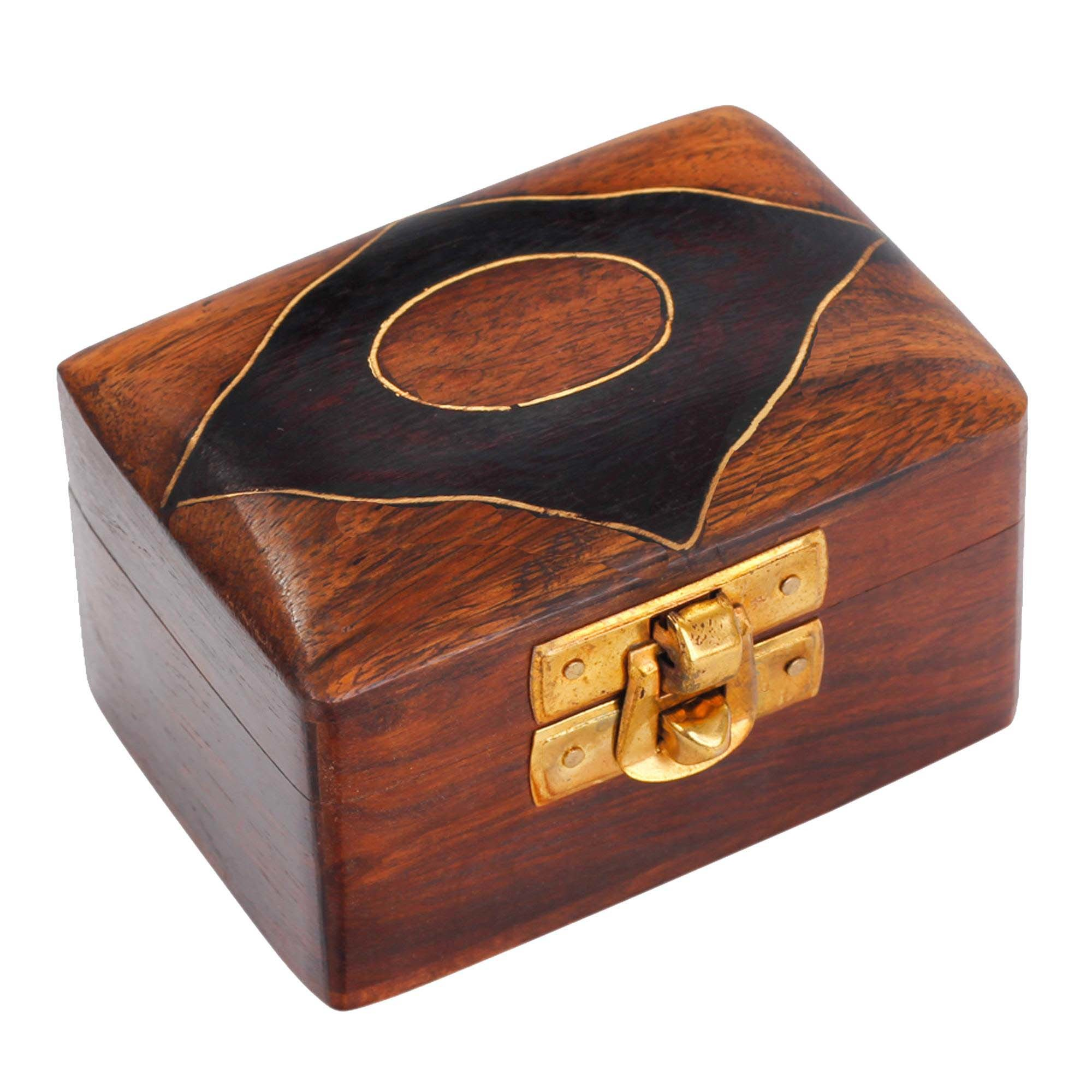 Handmade Wooden Jewellery Box