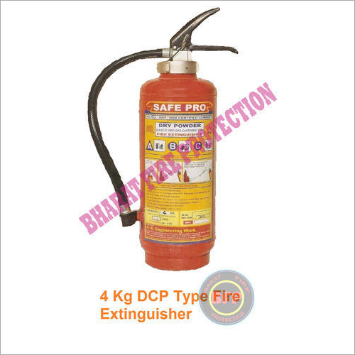 4 KG DCP Type Fire Extinguisher
