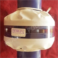 PTFE Coated Fiberglass flange Shields with transparent cover