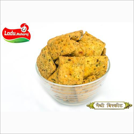 Methi Biscuit