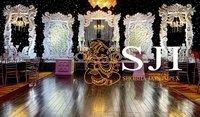 Gold Designer Wedding Fiber Frame