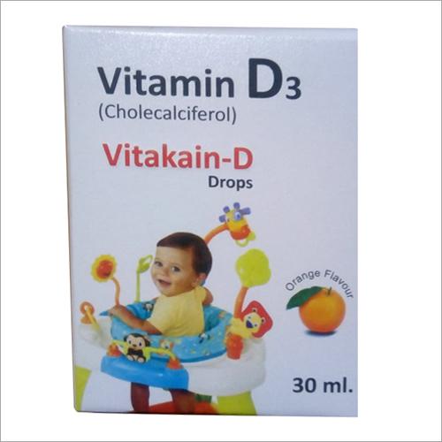 Cholecalciferol Vitamin D3 Drops