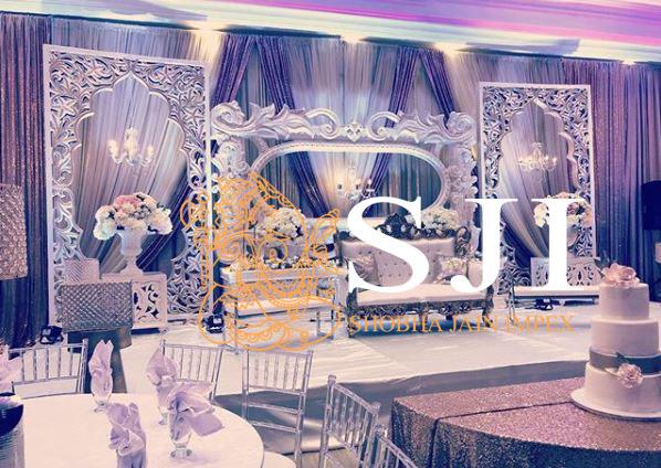 Palace Theme Wedding Fiber Frame
