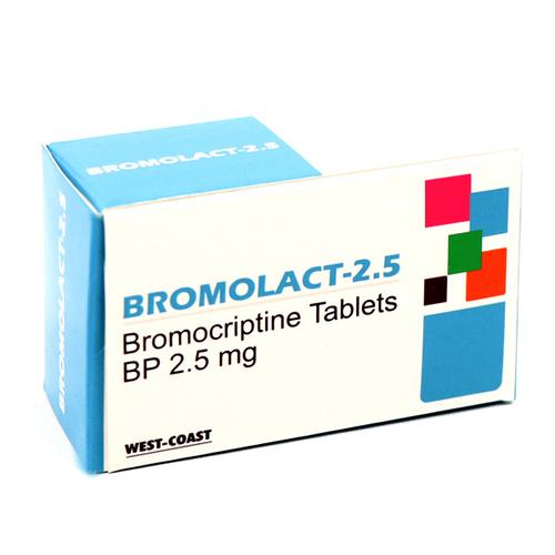 BROMOCRIPTINE TABLETS BP 2.5MG.