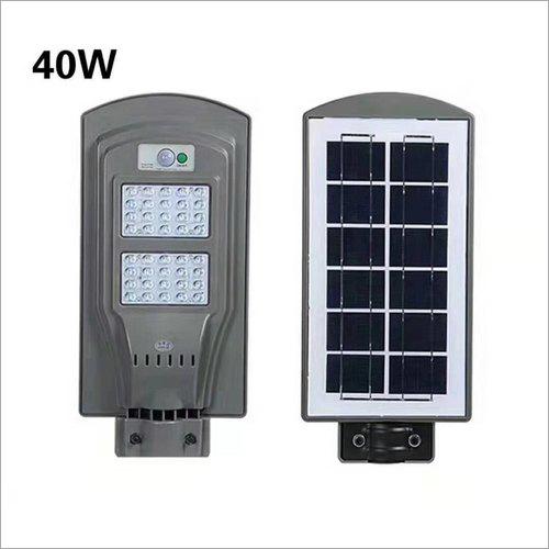 40W Solar All in One Street Light