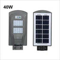 40W Solar All in One Street Light