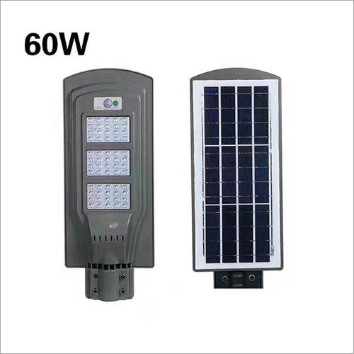 60W Solar All In One Street Light