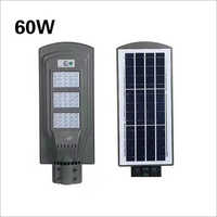 60W Solar All In One Street Light