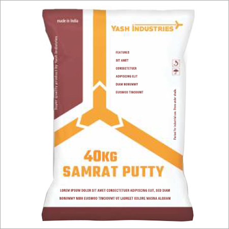 40 Kg White Putty