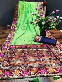 Sana Silk Jacquard Saree