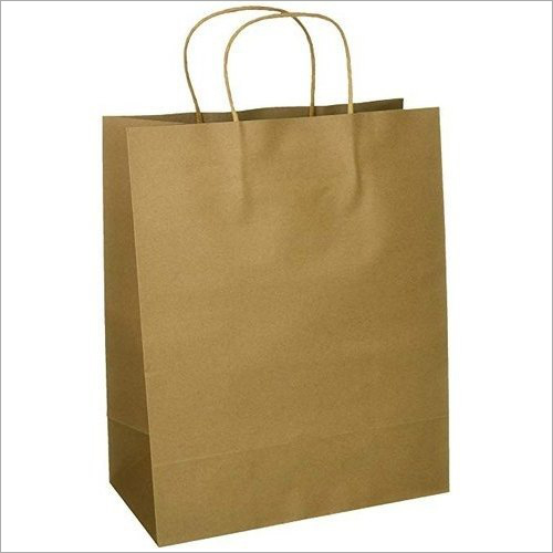 Brown Loop Handle Paper Bag