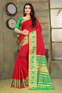 Jodhpuri Cotton Saree