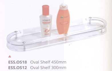 ESS OS18 - Oval Shelf 450mm & 300mm