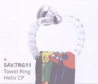 SAVY Towel Ring Helix CP