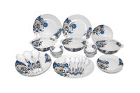 Aaico magic 41pcs melamine dinner set