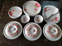 Aaico rose 40 pcs  melamine dinner set