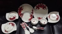 Aaico Tulip 40pcs melamine dinner set